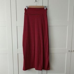 3/$25 Striped Maxi Skirt